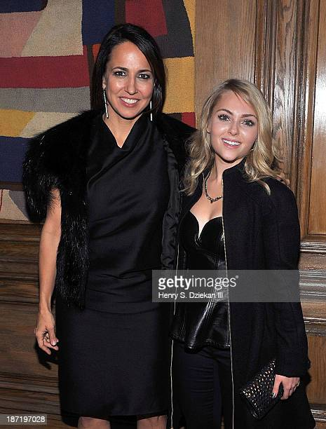 Marie Claire editor in chief Anne Fulenwider and AnnaSophia Robb attend The Cinema Society Dior Beauty screening of Thor The Dark World after party...