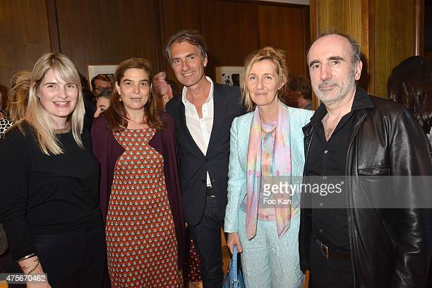 Marie Claire editor in chief Marianne Mairesse Eloise d'Ormesson Jury president Fabrice Gaignault writer Sylvie Bourgeois Harel and director Philippe...