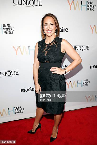 Marie Claire' EditorinChief Anne Fulenwider attends Marie Claire Young Women's Honors presented by Clinique at Marina del Rey Marriott on November 19...
