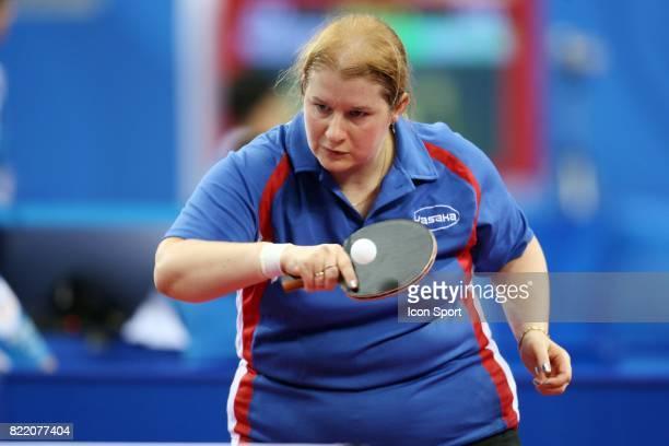 Marie Claire FRA Tennis de Table Jeux Paralympiques de Pekin 2008