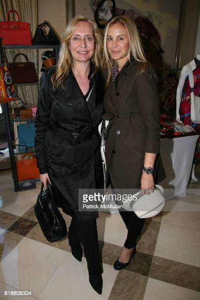 Marie Claire Gladstone and Dee Hilfiger attend AMERICANA MANHASSET Fashion Fete to Benefit GABRIELLE's ANGEL FOUNDATION for CANCER RESEARCH at...