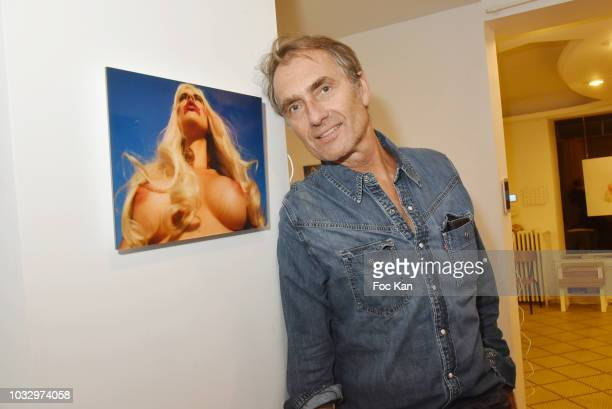 Marie Claire Magazine culture and celebrities editor in chief Fabrice Gaignault attends the 'Poupees' de Zoe Duchene Preview at Galerie Marguerite...