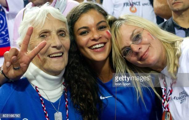 Marie Claire NOAH / Yelena NOAH / Cecilia NOAH RHODE - - France / Espagne - Finale Championnat d'Europe -Kaunas,