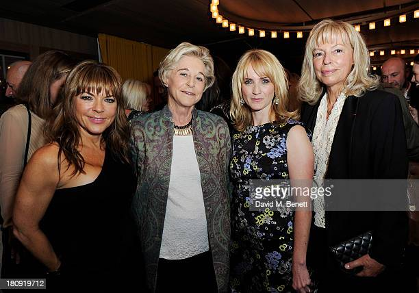 Marie Claire publishing director Justine Southall Chairman of the Marie Claire Groupe Evelyne ProuvostBerry Marie Claire EditorinChief Trish Halpin...