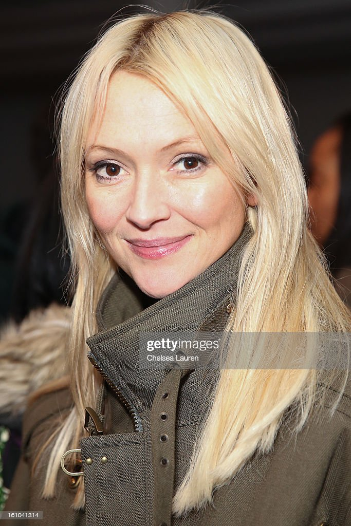 Marie Claire senior fashion editor Zanna Roberts Rassi attends the Suno fall 2013 fashion show during MADE Fashion Week at Milk Studios on February 8, 2013 in New York City.