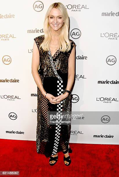 Marie Claires Senior Fashion Editor Zanna Roberts Rassi attends Marie Claire's Image Maker Awards 2017 at Catch LA on January 10 2017 in West...