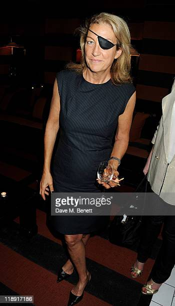 Marie Colvin attends the book launch party for author Janine di Giovanni's new book 'Ghosts by Daylight A Memoir of War and Love' at Blake's Hotel on...