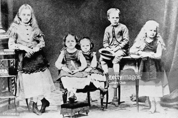 Marie Curie as a child with her brother and sisters From left to right are Zosia Hela Manya Joseph and Bronya MC Polishborn French physicist and...