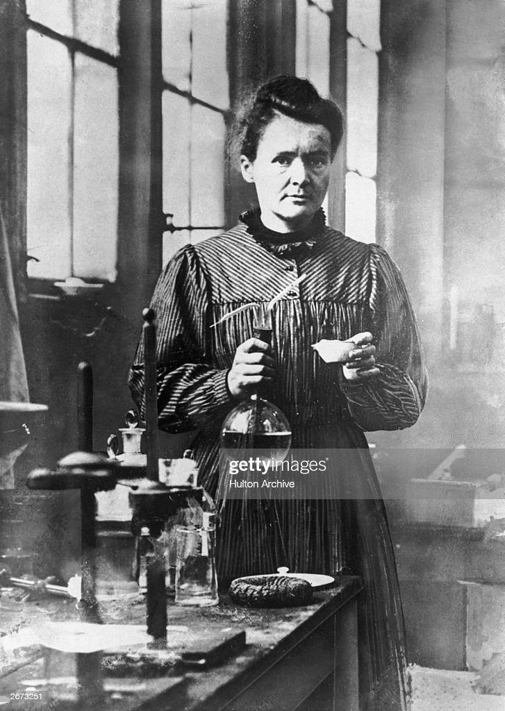 Marie Curie... : News Photo