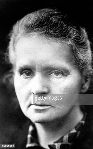 Marie Curie french physicist physics and chemistry Nobel Prize here in 1921