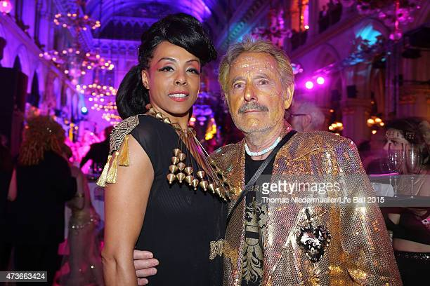 Marie Daulne attends the Life Ball 2015 after show party at City Hall on May 16 2015 in Vienna Austria