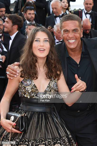 Marie de Fleurieu and Samy Naceri attend the Closing Ceremony during the 70th annual Cannes Film Festival at Palais des Festivals on May 28 2017 in...