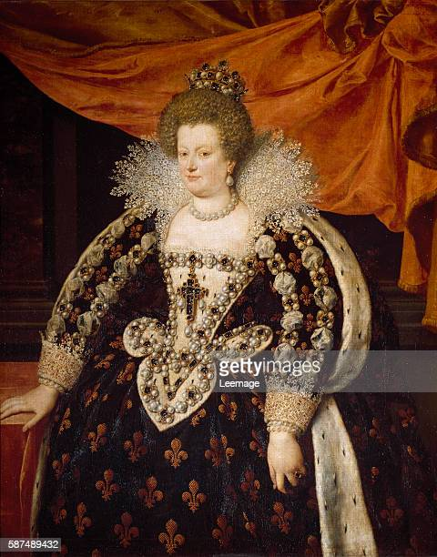 Marie de Medici by Frans Pourbus the Younger 1609 Palazzo Pitti Florence