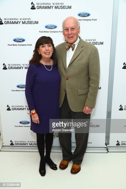 Marie Donnelly and Bob Donnelly pose for a photo together at the GRAMMY Museum®'s ninth annual GRAMMY In The Schools® Live A Celebration Of Music...