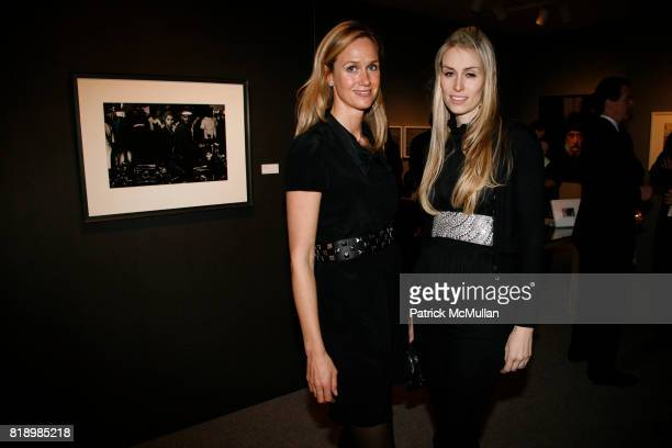 Marie Douglas and Carola Jain attend The 2010 ADAA Art Show at Park Avenue Armory on March 2 2010 in New York City