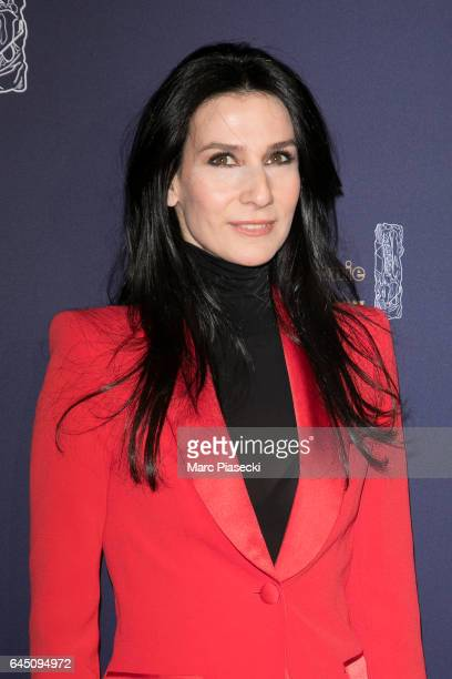 Marie Drucker attends the the Cesar Film Awards 2017 ceremony at Salle Pleyel on February 24 2017 in Paris France