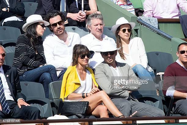 Marie Drucker, Cabinet director of the mayor of Paris Mathias Vicherat, Judoka Thierry Rey and guest, Co-Owner of Leetha Caroline Baltz Nielsen and...