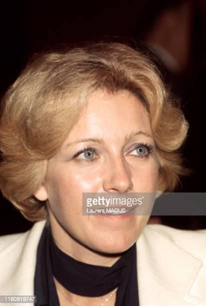 Marie Dubois lors d'une soirée à Paris France circa 1970
