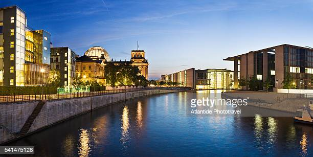 Marie Elisabeth Luders Haus, Paul Lobe Haus and the Reichstag (Parliament Building)