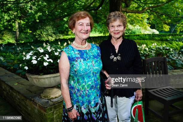 Marie Failey and Wendy Cooper attend A Country House Gathering To Benefit Preservation Long Island on June 28 2019 in Locust Valley New York