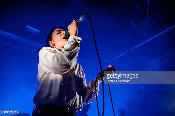 Marie Fisker performs live on stage during a concert at Postbahnhof on September 21 2016 in Berlin Germany