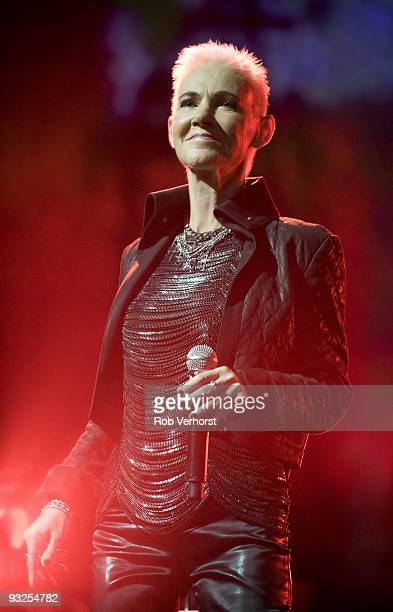 Marie Fredriksson of Roxette perform on stage as part of Night Of The Proms at Ahoy on November 18 2009 in Rotterdam Netherlands