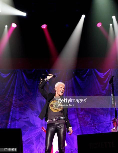 Marie Fredriksson of Roxette performs at Heineken Music Hall on June 29 2012 in Amsterdam Netherlands