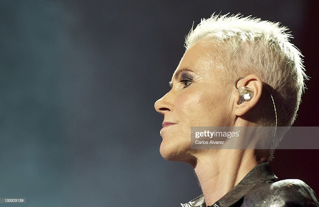 Roxette Performs In Concert In Madrid : News Photo