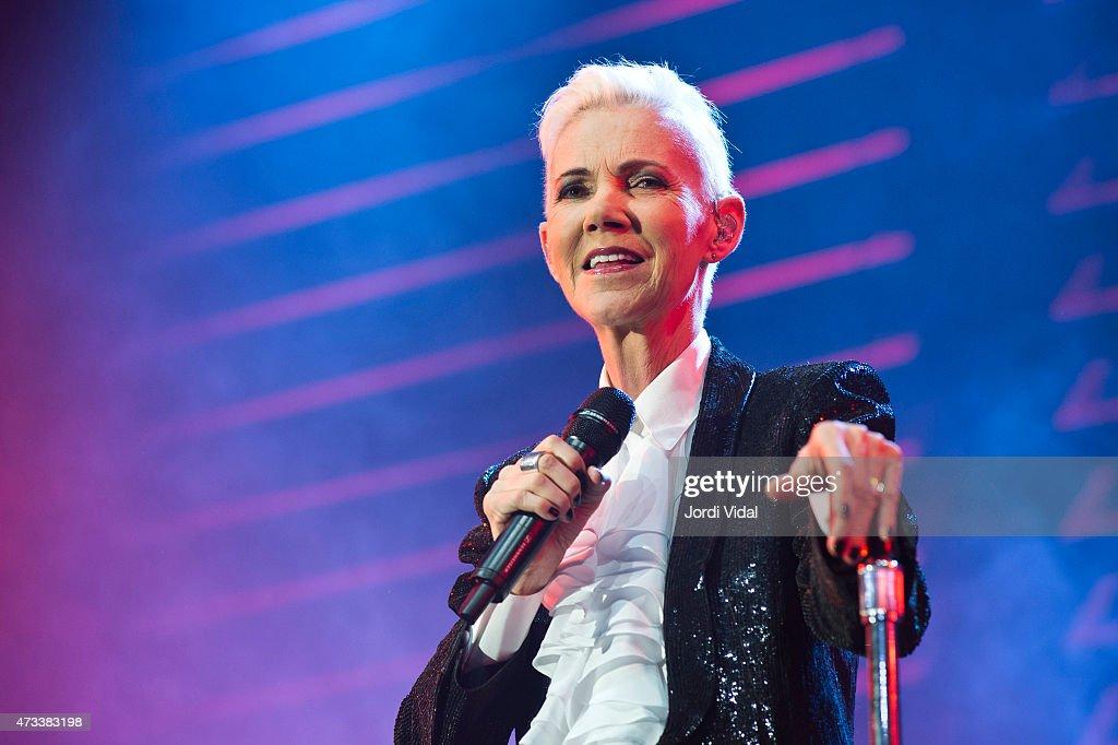 Roxette Perform At Sant Jordi Club In Barcelona : Nachrichtenfoto