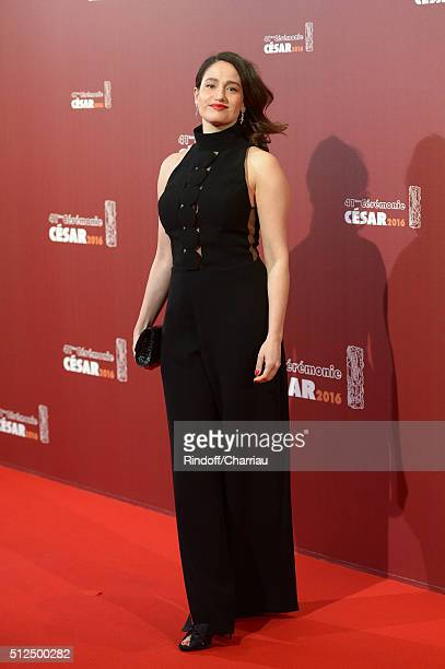 Marie Gillain arrives at The Cesar Film Awards 2016 at Theatre du Chatelet on February 26 2016 in Paris France