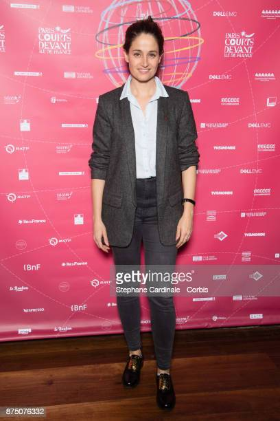 Marie Gillain attends the Paris Courts Devant Opening Ceremony at Bibliotheque Nationale de France on November 16 2017 in Paris France