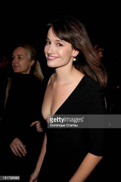 Marie Gillain attends the 'Toutes Nos Envies' Premiere at cinema Normandy on November 7 2011 in Paris France