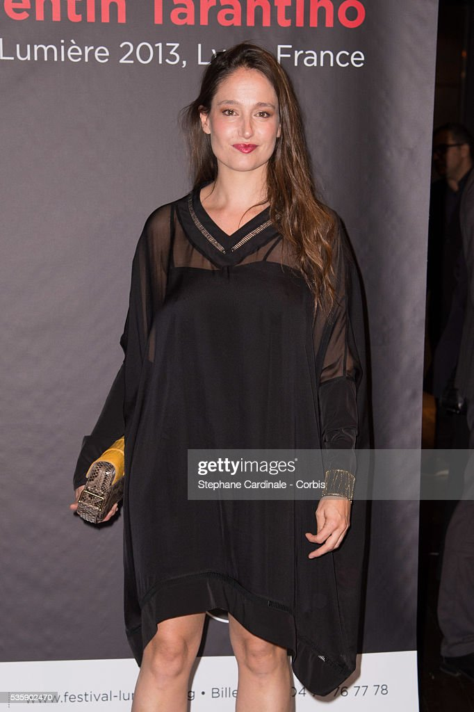 Marie Gillain attends the Tribute to Quentin Tarantino, during the 5th Lumiere Film Festival, in Lyon.