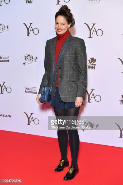 """Marie Gillain attends """"Yao"""" Paris Premiere at Le Grand Rex on January 15, 2019 in Paris, France."""