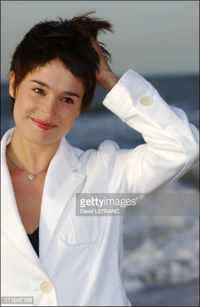 Marie Gillainat the Cabourg Romantic Film Festival in Cabourg France on June 13 2003