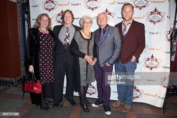 Marie Greyson Christopher Greyson Polly Spatafora Tony Spatafora and Michael Vinton arrive at the 7th Annual Taste Awards at the Castro Theatre on...