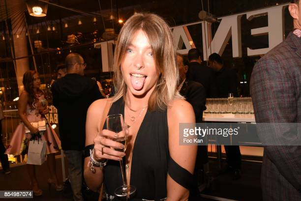 Marie Grosjean attends the Christophe Guillarme Show as part of the Paris Fashion Week Womenswear Spring/Summer 2018 on September 27 2017 in Paris...