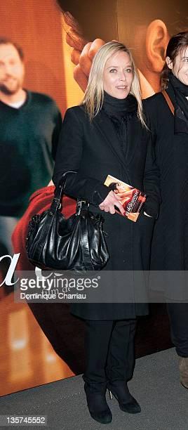 Marie Guillard attends 'La Delicatesse' Paris Premiere at UGC Normandie on December 13, 2011 in Paris, France.