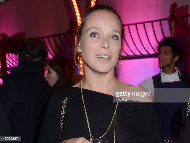 Marie Guillard attends Le Fooding 2013 Culinary Awards at the Cirque d'Hiver on November 25 2013 in Paris France