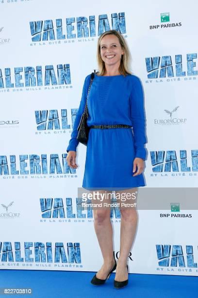 """Marie Guillard attends """"Valerian et la Cite des Mille Planetes"""" Paris premiere at La Cite Du Cinema on July 25, 2017 in Saint-Denis, France."""