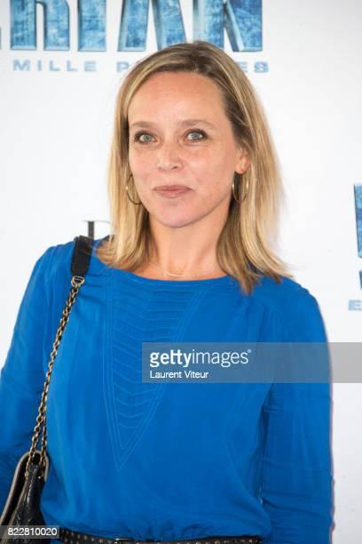 """Marie Guillard attends """"Valerian et la Cite desMille Planetes"""" Paris Premiere at La Cite Du Cinema on July 25, 2017 in Saint-Denis, France."""