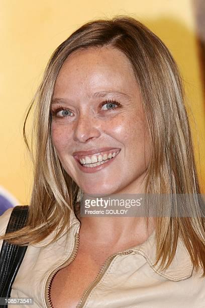 Marie Guillard in Paris, France on October 03rd, 2005.