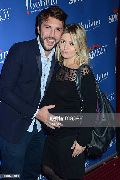 Marie Inbona and Alexandre Halimi attend the Spamalot Generale at Bobino on October 3 2013 in Paris France