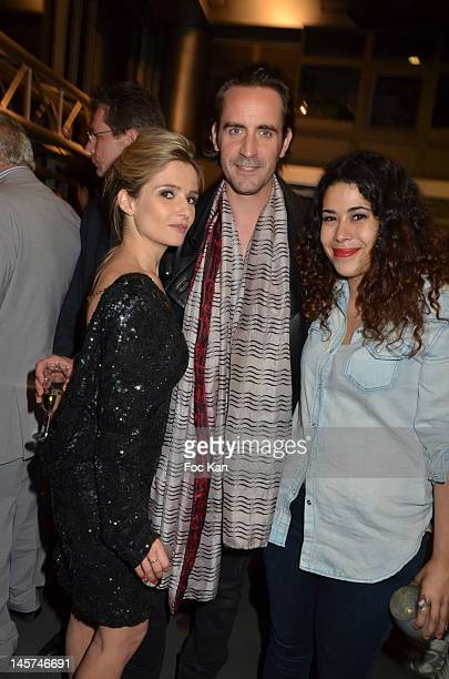 Marie Inbona Rod Janois and Nathalia attend the 'Trofemina 2012 Edition hosted by Tentation at Institut du Monde Arabe on June4 2012 in Paris France