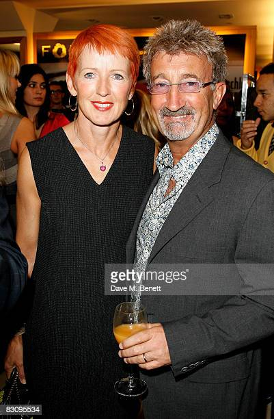 Marie Jordan and Eddie Jordan attend the launch party for Form Menswear at Harrods on October 2 2008 in London England