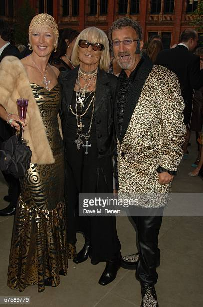 Marie Jordan Barbara Hulanicki and Formula one personality Eddie Jordan attend The Biba Ball organized by 'the CLIC Sargent Cancer care charity' held...