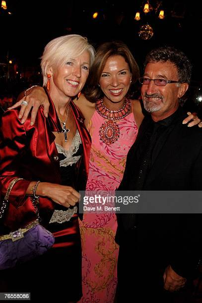 Marie Jordan Heather Kerzner and Eddie Jordan attend the Royal Parks Foundation Summer Party hosted by CandyCandy at the Serpentine Lido on September...
