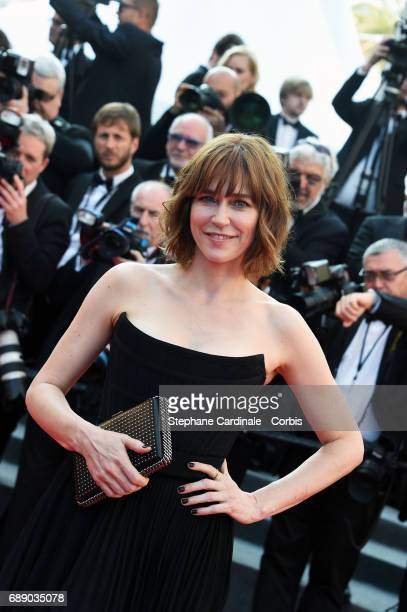 Marie Josee Croze attends the 'Based On A True Story' screening during the 70th annual Cannes Film Festival at Palais des Festivals on May 27 2017 in...