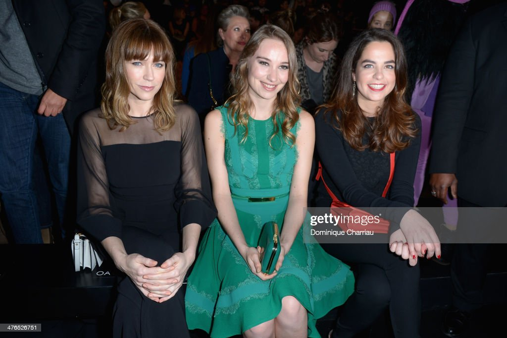 Elie Saab : Front Row  - Paris Fashion Week Womenswear Fall/Winter 2014-2015