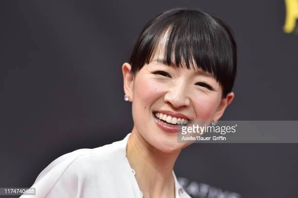 Marie Kondo attends the 2019 Creative Arts Emmy Awards on September 14 2019 in Los Angeles California